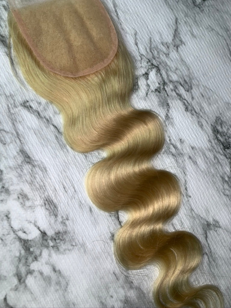 Blonde Babe Closure