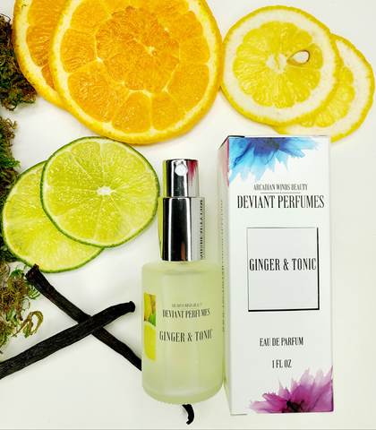 Deviant Perfumes Collection-GINGER & TONIC