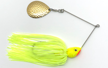 Load image into Gallery viewer, Ledge Hog Shad Head Single Colorado Spinner Bait