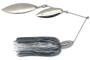 Ledge Hog Classic Head Double Willow Spinner Bait