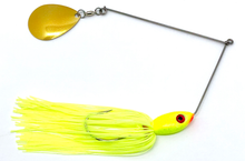 Load image into Gallery viewer, Ledge Hog Classic Head Single Colorado Spinner Bait