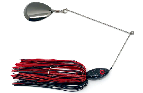 Ledge Hog Classic Head Single Colorado Spinner Bait