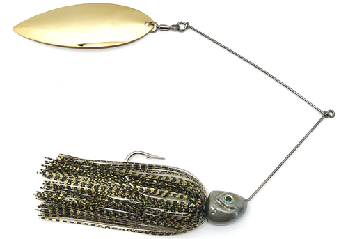 Ledge Hog Swim Head Single Willow Spinner Bait