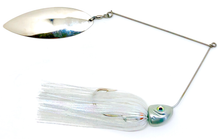 Load image into Gallery viewer, Ledge Hog Swim Head Single Willow Spinner Bait