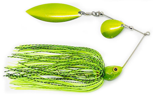 Ridley Pro Line Shad Head Line Spinner Bait -Colorado/Willow