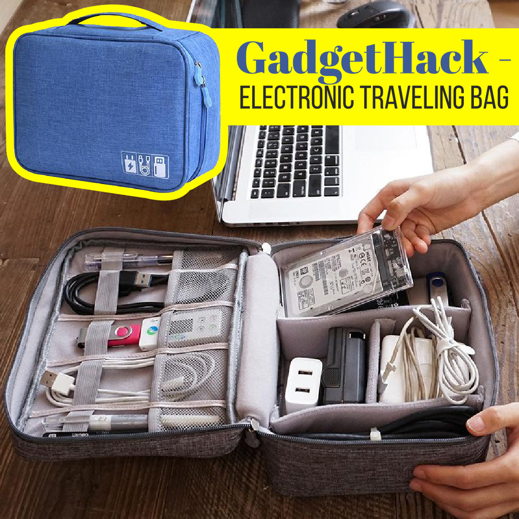 GadgetHack - Electronic Traveling Bag