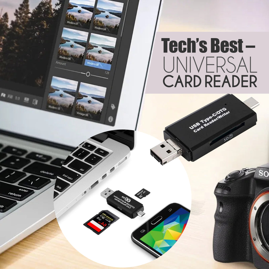 Tech's Best – Universal Card Reader