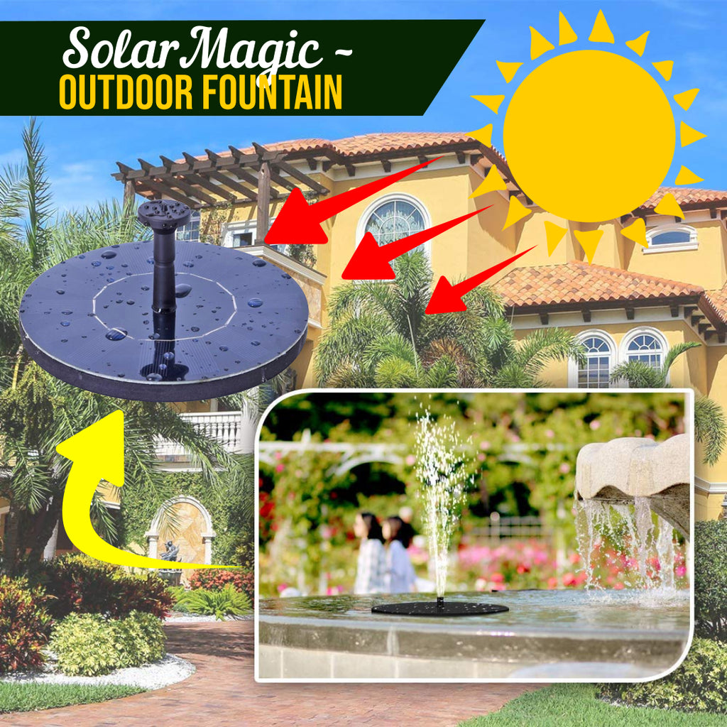 SolarMagic – Outdoor Fountain