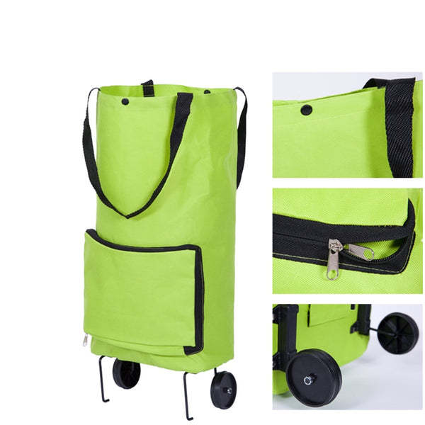Eco-Friendly Foldable trolley Bag