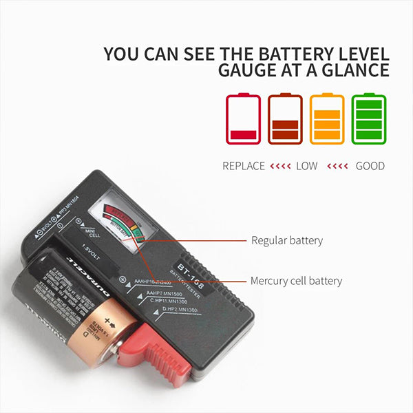 Portable Universal Battery Tester