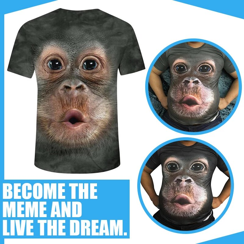 Wacky Monkey Meme Shirt - CLEAR STOCK NOW