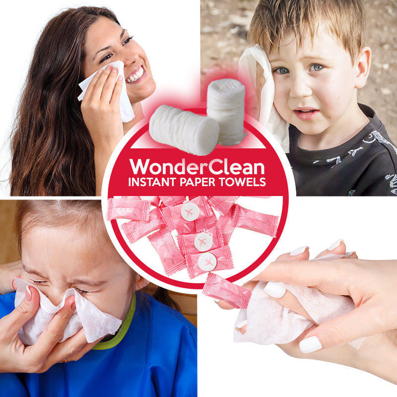 WonderClean – Instant Paper Towels