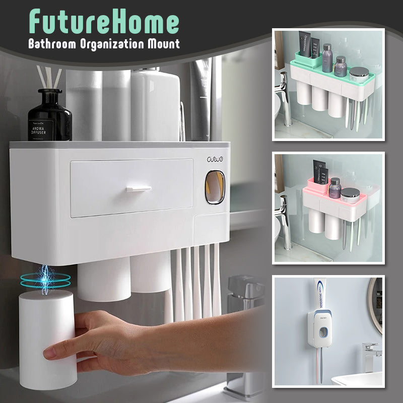 FutureHome – Bathroom Organization Mount