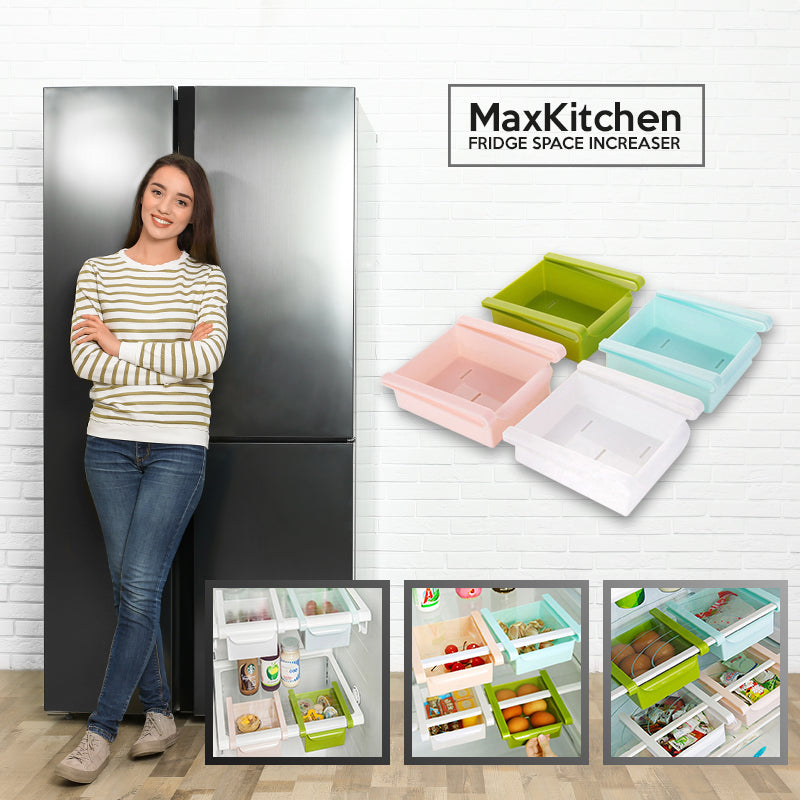 MaxKitchen – Fridge Space Increaser