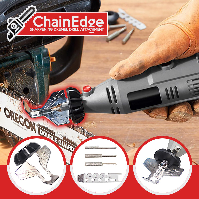 ChainEdge – Sharpening Dremel Drill Attachment