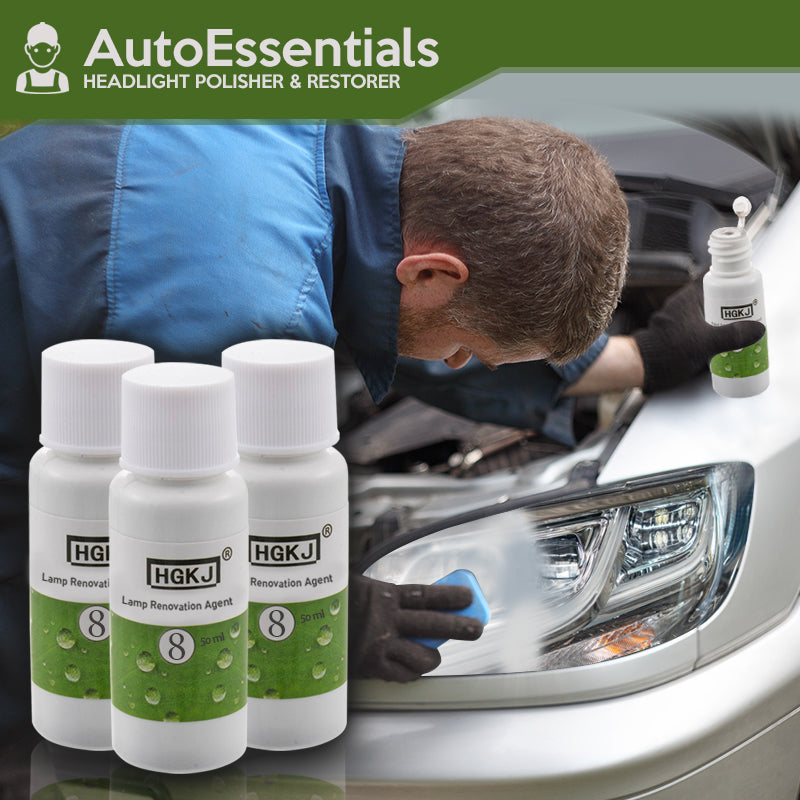 AutoEssentials – Headlight Polisher & Restorer