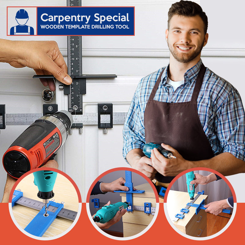 Carpentry Special – Wooden Template Drilling Tool