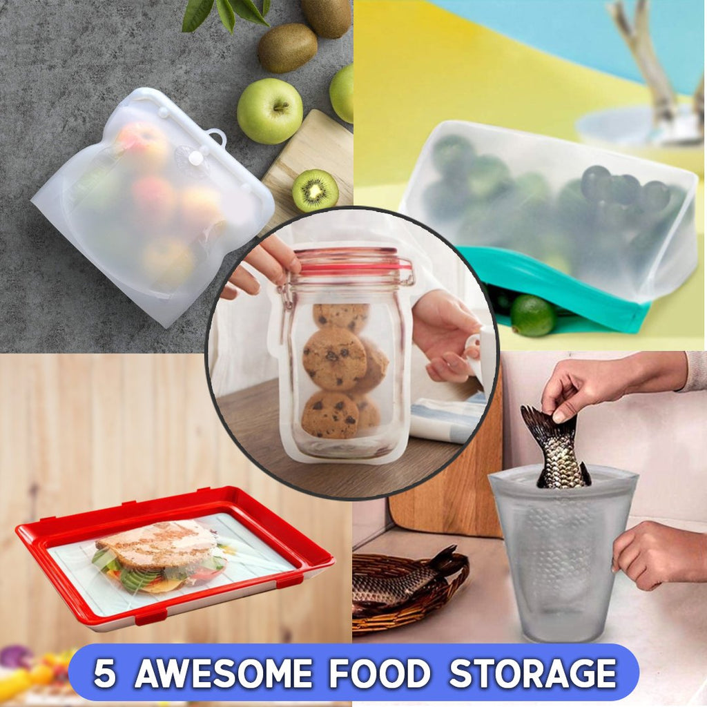 5 Awesome Food Storage