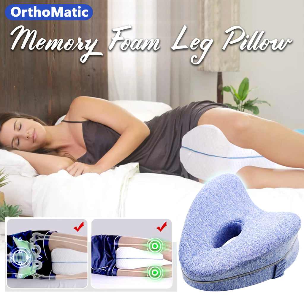 OrthoMatic – Memory Foam Leg Pillow