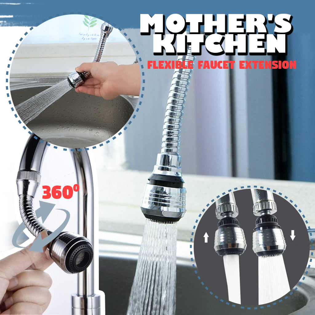 Mother's Kitchen – Flexible Faucet Extension
