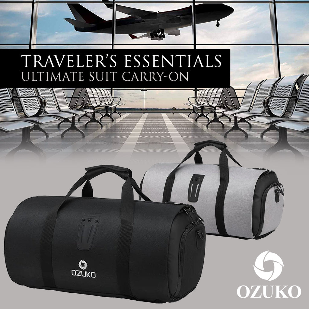 Traveler's Essentials – Ultimate Suit Carry-On