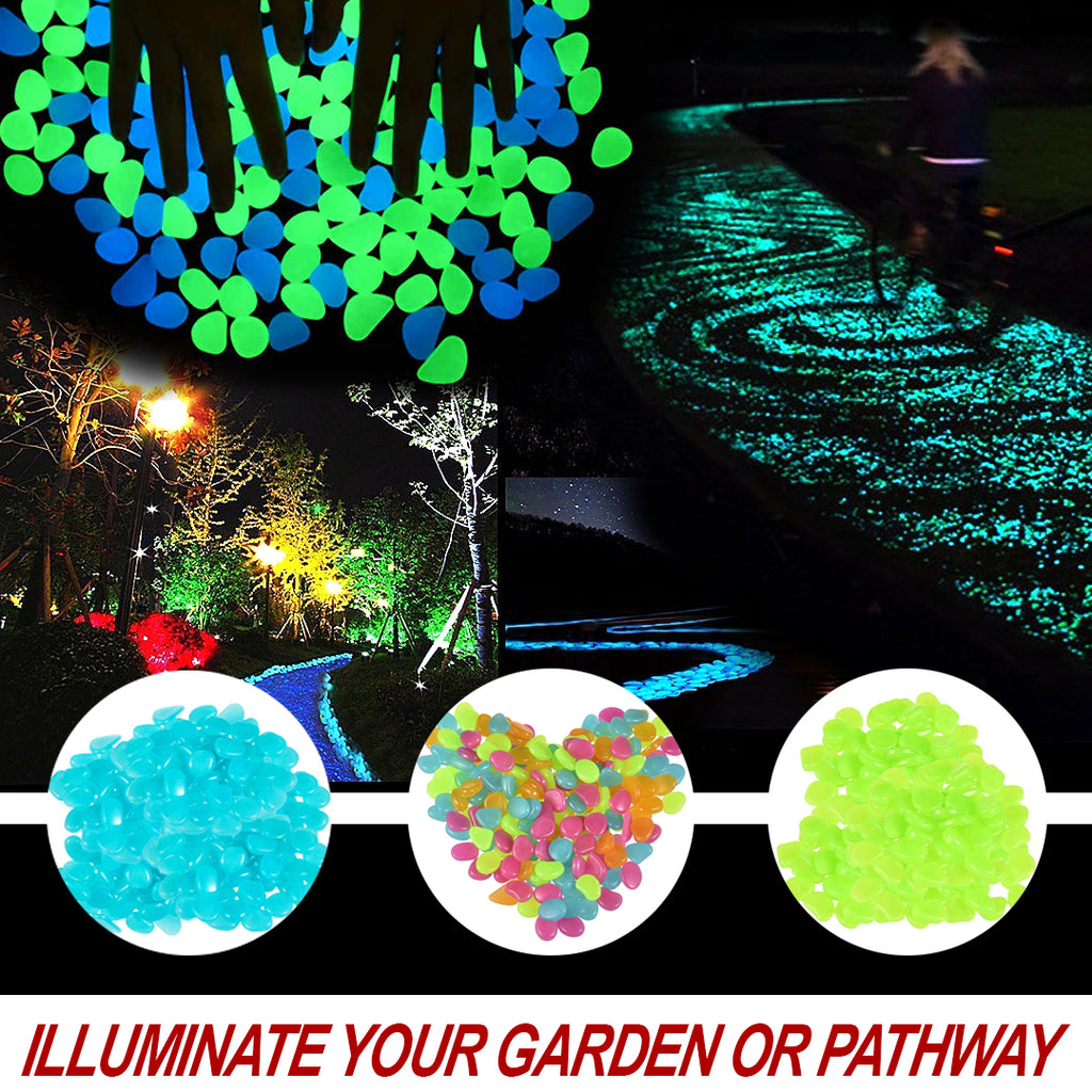 DreamScape – Luminous Garden Stones