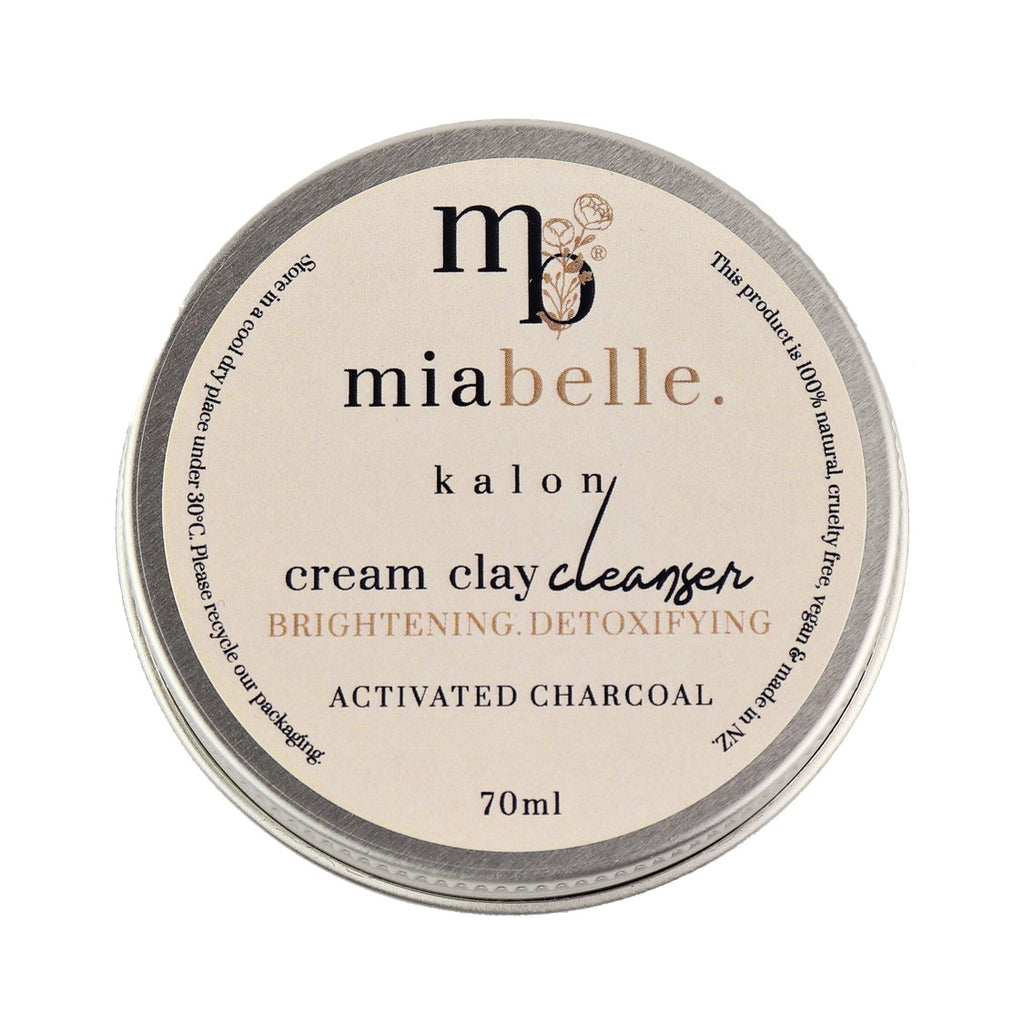 Mia Belle Activated Charcoal Cream Face Cleanser