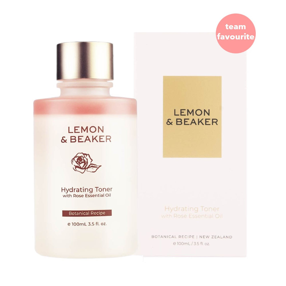 Lemon & Beaker Hydrating Toner with Rose Essential Oil