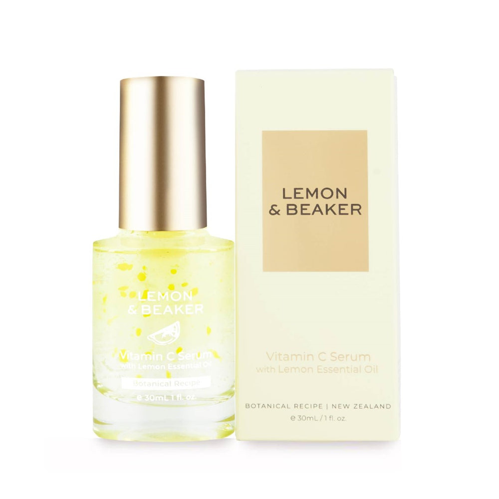 Lemon & Beaker Vitamin C Serum with Lemon Essential Oil