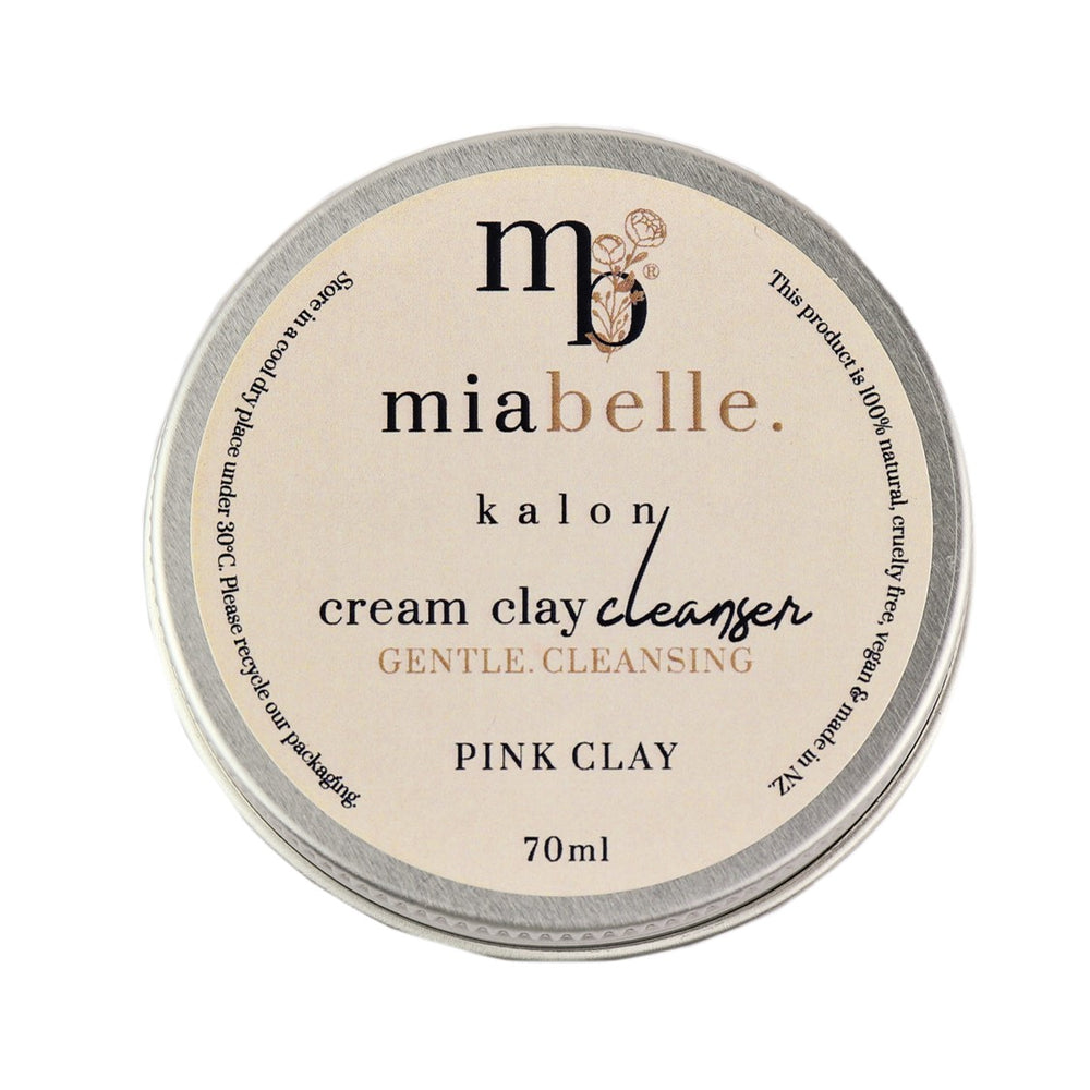 Mia Belle Pink Clay Cream Face Cleanser
