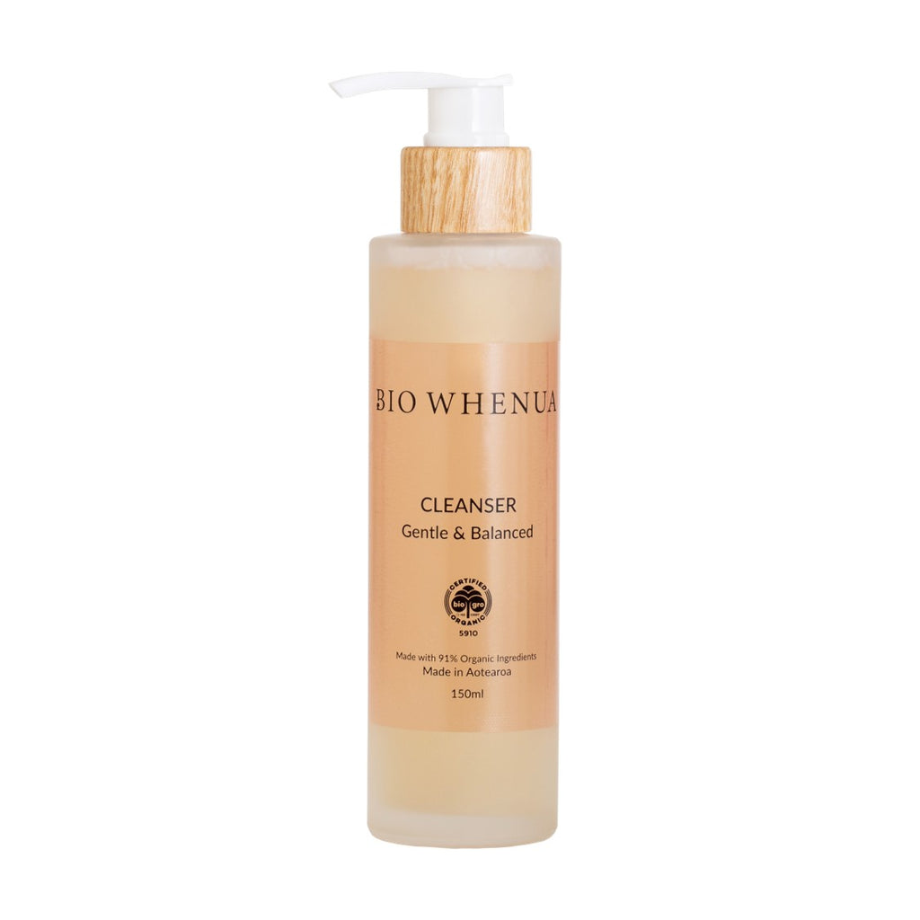 Bio Whenua Rose Gentle & Balanced Cleanser