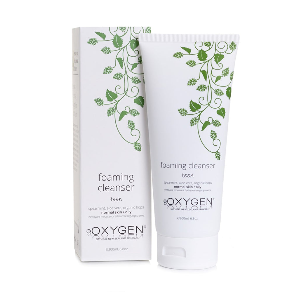Oxygen Skincare Teen Foaming Cleanser