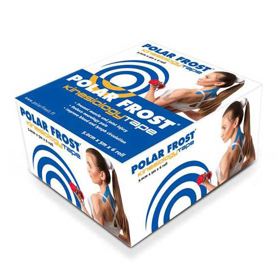Polar Frost Kinesiology Tape (6 rolls, 5m per roll)
