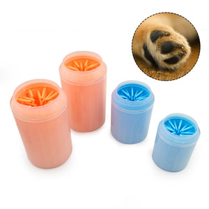 Dog Paw Cleaner Cup Soft