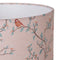 G&H 30cm Cotton Lampshade in Parus Bird Print close up