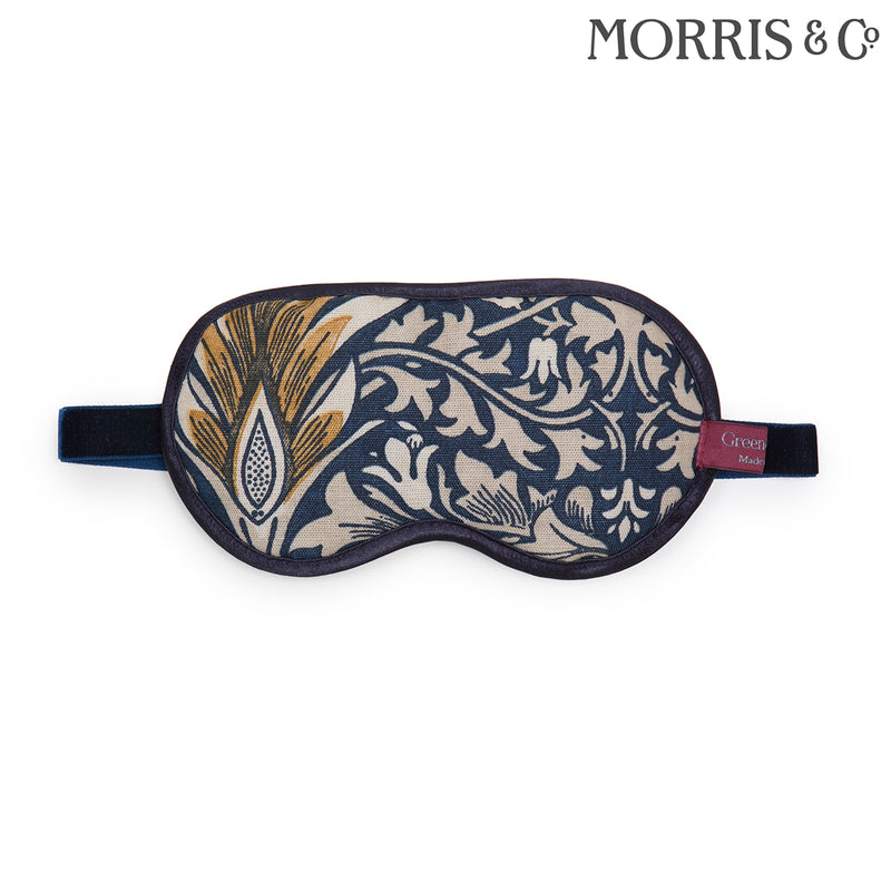 Relaxing Lavender Eye Mask in William Morris Snakeshead