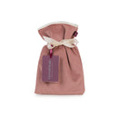 Mini Hot Water Bottle with Velvet Cover in Pink Blush