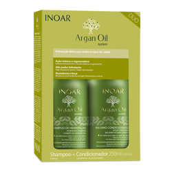 Argan oil kit - shampoo and conditioner INOAR