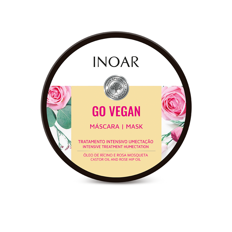 Go Vegan Wavy and Curls Hair Mask