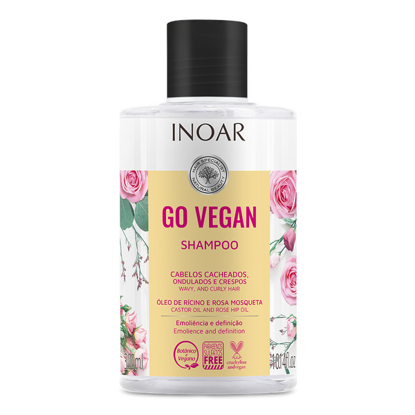 Go Vegan Wavy and Curls Shampoo
