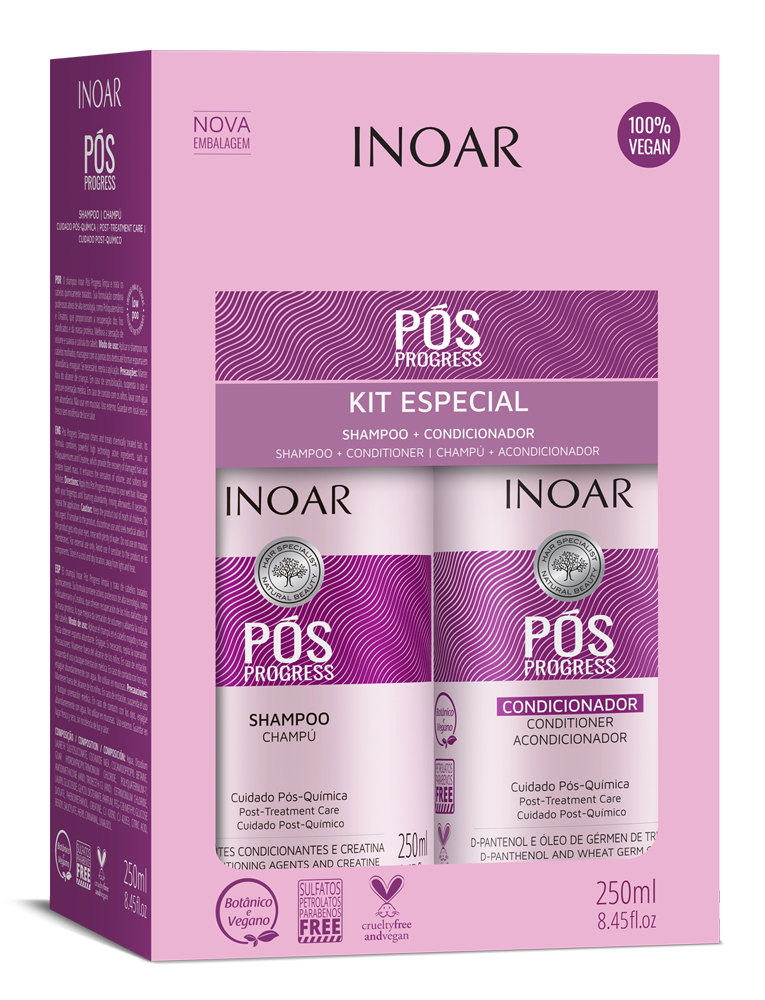 Pós Progress Kit (Shampoo + Conditioner)