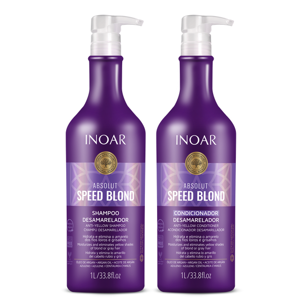 Absolut Speed Blond Shampoo & Conditioner