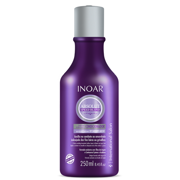 Purple hair conditioner for blondes