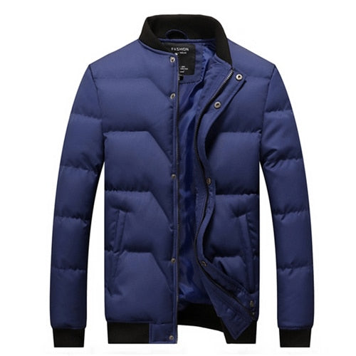 Slim Winter Windbreak Jacket - fashion-beco