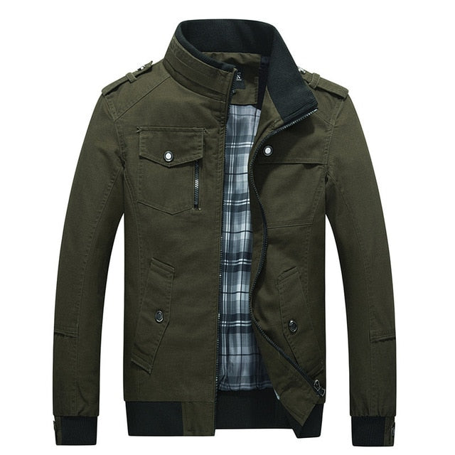 Autumn Military Style Jacket - fashion-beco