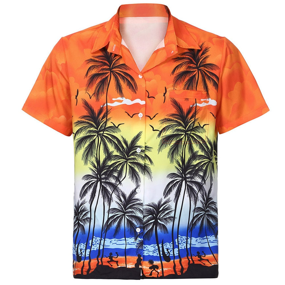 Hawaiian Style Shirt - fashion-beco