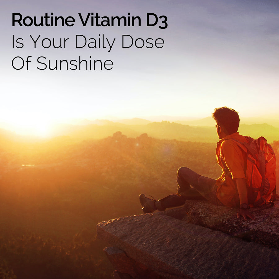 Vitamin D3 - 2oz bottle