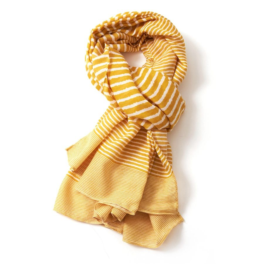 Cross Stripes Scarf - various colours