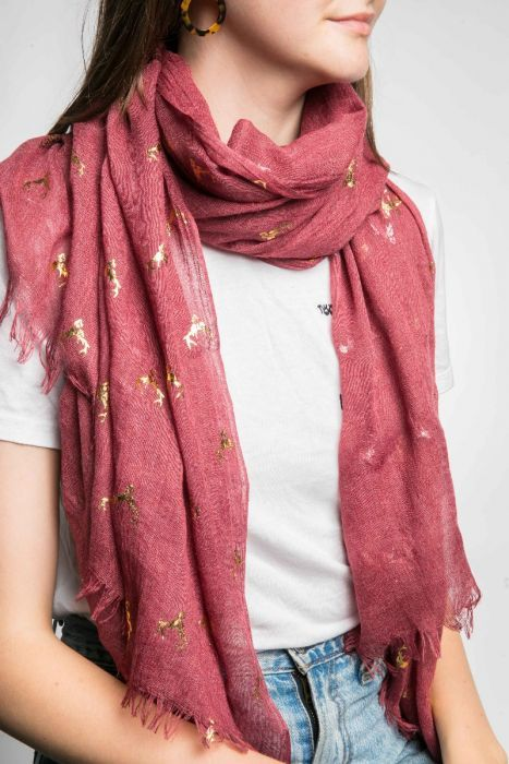 Demi Scarf - Red