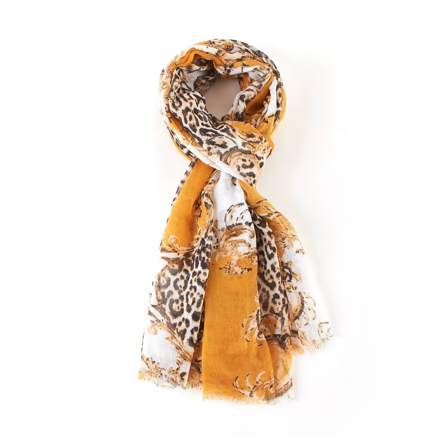 Leopard Scarf - various colours